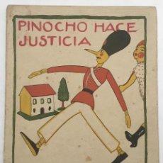 Libros de segunda mano: PINOCHO HACE JUSTICIA. - [CALLEJA.]. Lote 123263964