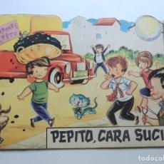 Libros de segunda mano: PEPITO, CARA SUCIA / DIBUJOS SABATÉS / ED. TORAY AÑO 1960 / COLECCION CUENTOS EN CINEMASCOPE. Lote 124531383