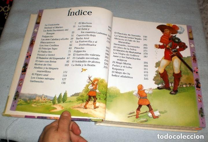 Libros de segunda mano: MI LIBRO MÁGICO DE CUENTOS. REZZA EDITORES S.A. AÑO 1999. - Foto 4 - 151995613