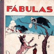 Libros de segunda mano: FABULAS EN VERSO CASTELLANO. FELIX MARIA SAMANIEGO. ILUSTRADA 66 GRABADOS F. COLLADO. 1943.. Lote 124747071