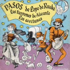 Libros de segunda mano: PASOS DE LOPE DE RUEDA (LA GALERA, 1981) ILUSTRA PILARÍN BAYÉS - TEATRO INFANTIL. Lote 125079871