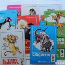 Libros de segunda mano: MARIA PASCUAL / 11 CUENTOS DIFERENTES - COLECCION JILGUERO ( ANIMALES ) ED. TORAY 1970 - 1971. Lote 125191651