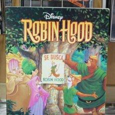 Libros de segunda mano: ROBIN HOOD. DISNEY. Lote 125278759