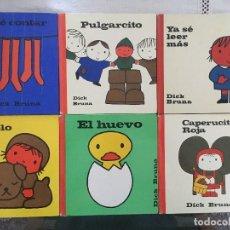Libros de segunda mano: COLECCION DICK BRUNA 19 TOMOS AGUILAR EDICIONES 1970/75. Lote 125832311