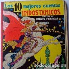 Libros de segunda mano: LOS 10 MEJORES CUENTOS INDOSTÁNICOS. Lote 125861183