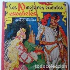 Libros de segunda mano: LOS 10 MEJORES CUENTOS ESPAÑOLES. Lote 218491541