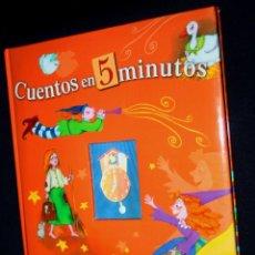 Libros de segunda mano: CUENTOS EN 5 MINUTOS (CUENTOS RÁPIDOS) EQUIPO SUSAETA (OFERTON). Lote 125934275