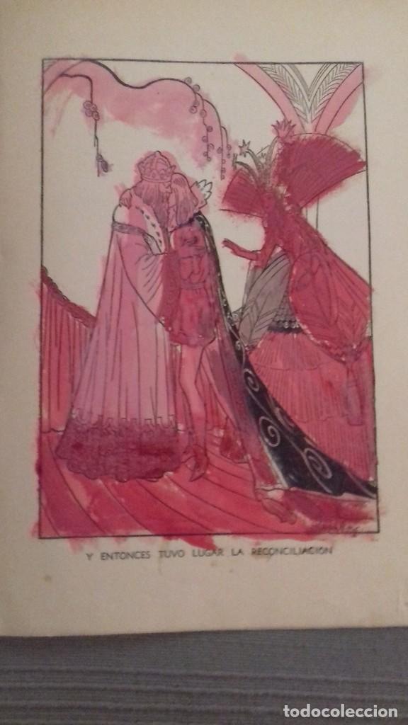 Libros de segunda mano: El agua milagrosa y los dos aprendices. 1a ed 1938. Hermanos Grimm. Ed Molino. Dibujos FREIXAS. - Foto 5 - 126069967
