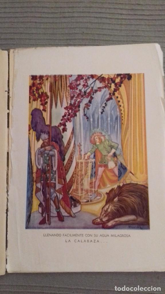 Libros de segunda mano: El agua milagrosa y los dos aprendices. 1a ed 1938. Hermanos Grimm. Ed Molino. Dibujos FREIXAS. - Foto 7 - 126069967