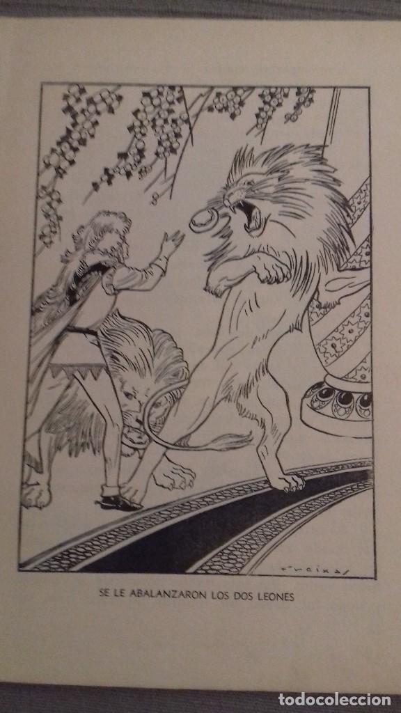 Libros de segunda mano: El agua milagrosa y los dos aprendices. 1a ed 1938. Hermanos Grimm. Ed Molino. Dibujos FREIXAS. - Foto 8 - 126069967