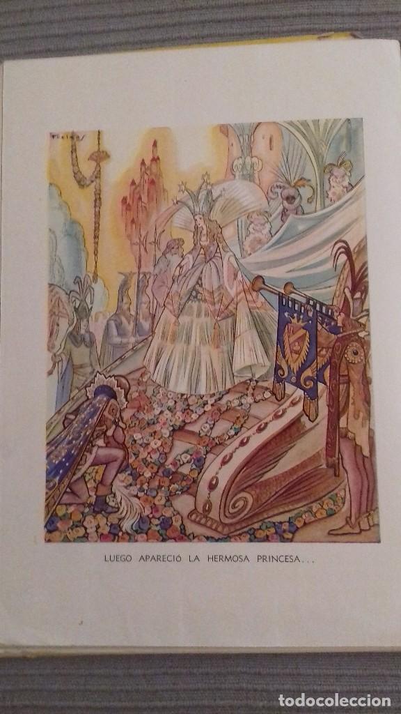 Libros de segunda mano: El agua milagrosa y los dos aprendices. 1a ed 1938. Hermanos Grimm. Ed Molino. Dibujos FREIXAS. - Foto 9 - 126069967