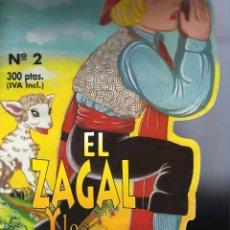 Libros de segunda mano: EL ZAGAL Y LAS OVEJAS. TROQUELADO.. Lote 126101187