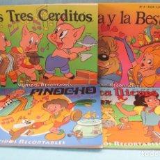 Libros de segunda mano: CUENTOS RECORTABLES-EDIBER. Lote 126116323