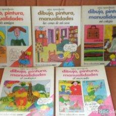 Libros de segunda mano: LOTE 5 VOLÚMENES COLECCIÓN ESTOY APRENDIENDO - CEAC 1976 - SIN USAR. Lote 126152083