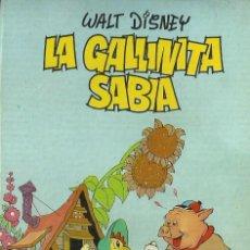 Libros de segunda mano: LA GALLINITA SABIA. WALT DISNEY PRODUCTIONS. EDITORIAL MOLINO, 1968. Lote 126177967
