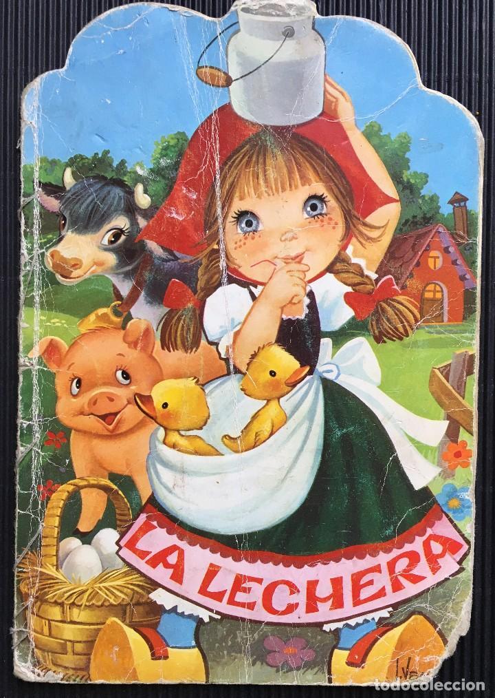 La Lechera De La Serie Fabulas Ilustraciones Comprar Libros De Cuentos En Todocoleccion 126235835