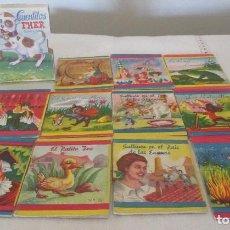 Libros de segunda mano: PEQUEÑA CAJITA CON 11 CUENTITOS FHER, QUINTA SERIE. INCLUYE LOS NÚMEROS DEL 30 AL 40. Lote 126324307