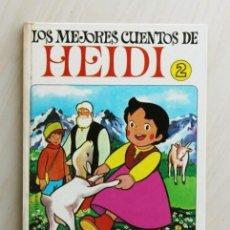 Libros de segunda mano: LOS MEJORES CUENTOS DE HEIDI. TOMO 2. (ED. BRUGUERA). Lote 126336134
