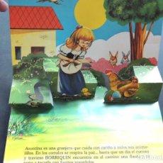 Libros de segunda mano: LA FLAUTA DE BORRIQUIN / CUENTO VISION - PANORAMICOS /ED. ROMA 1985 / SIN USAR. Lote 126360379