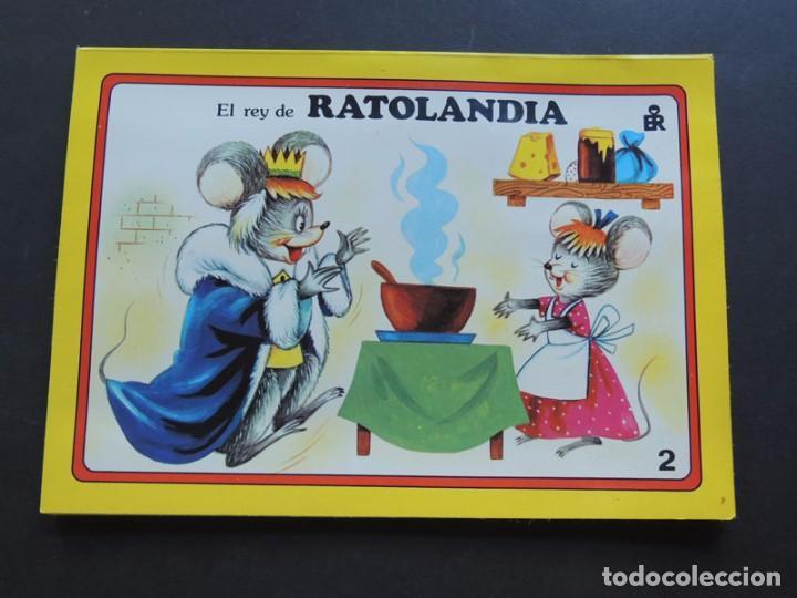 Libros de segunda mano: EL REY DE RATOLANDIA / CUENTO VISION - PANORAMICOS /ED. ROMA 1985 / SIN USAR - Foto 2 - 126360487
