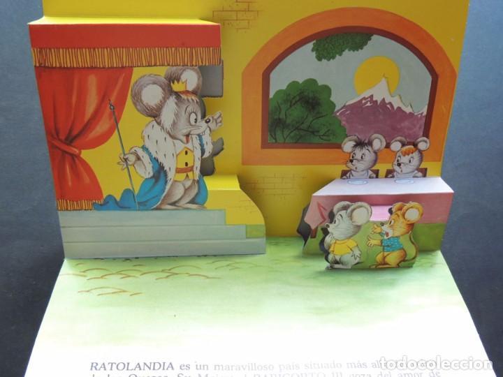 Libros de segunda mano: EL REY DE RATOLANDIA / CUENTO VISION - PANORAMICOS /ED. ROMA 1985 / SIN USAR - Foto 3 - 126360487