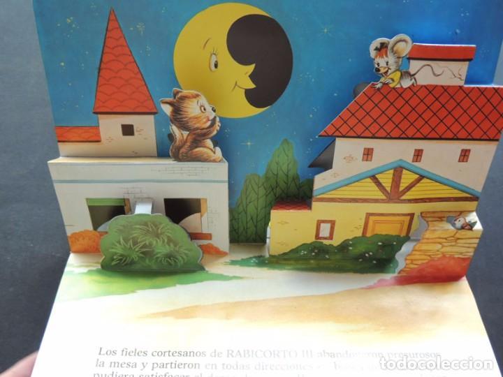 Libros de segunda mano: EL REY DE RATOLANDIA / CUENTO VISION - PANORAMICOS /ED. ROMA 1985 / SIN USAR - Foto 4 - 126360487