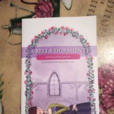 Libros de segunda mano: LA BELLA DURMIENTE - HERMANOS GRIMM - ILUSTRADO POR DIEGO MOSCATO. Lote 126426691
