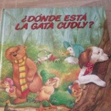 Libros de segunda mano: DONDE ESTÁ LA GATA CUDLY - EVEREST 1988. Lote 126433187