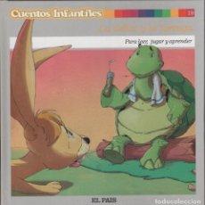 Libros de segunda mano: CUENTOS INFANTILES - LA LIEBRE Y LA TORTUGA - PARA LEER JUGAR Y APRENDER 39 PÁGINAS AÑO 2006 FN60. Lote 126507767