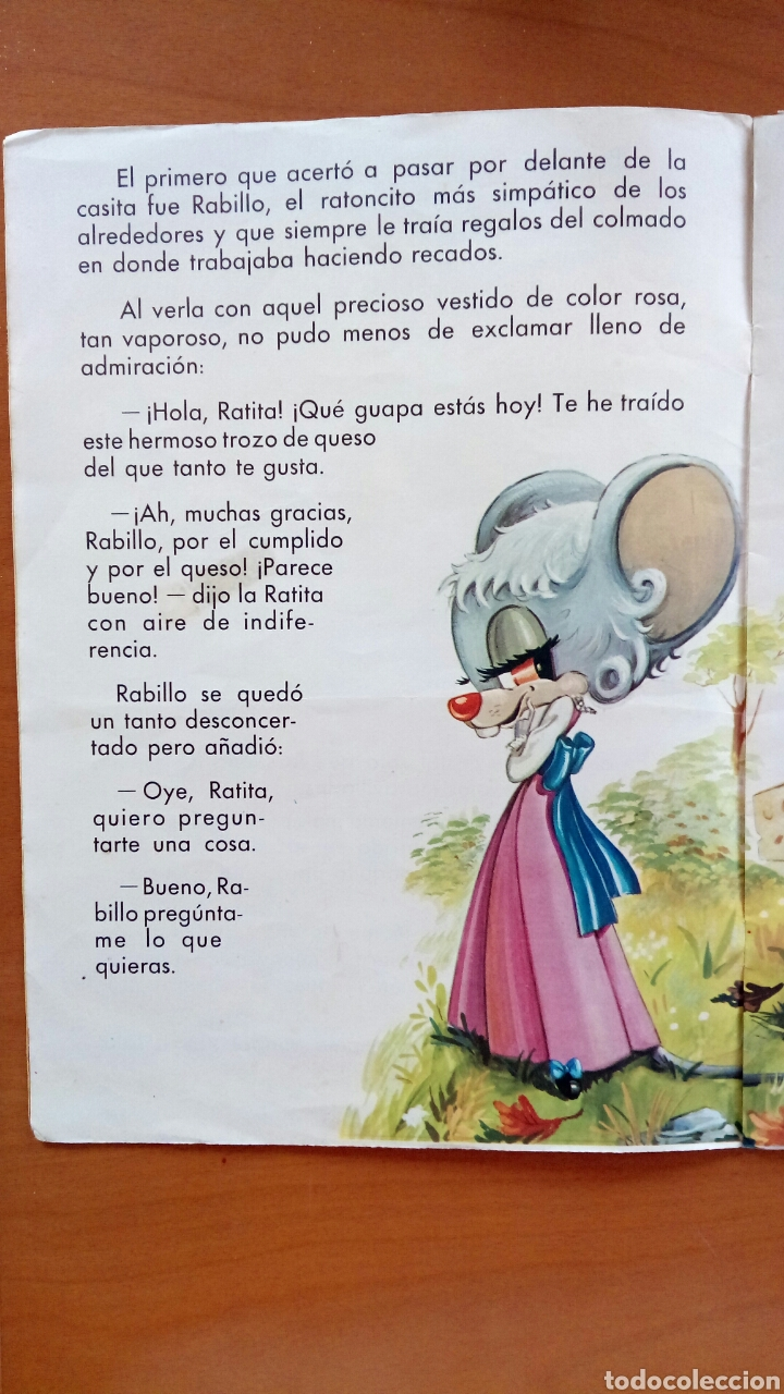 Libros de segunda mano: La ratita presumida. Ediciones Boga. Volumen 3. -