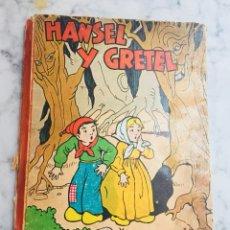Libros de segunda mano: LIBRO. CUENTO. HANSEL Y GRETEL. ILUSTRACIÓN SORPRESA. POP-UP 3D. ED. MOLINO.. Lote 126658051