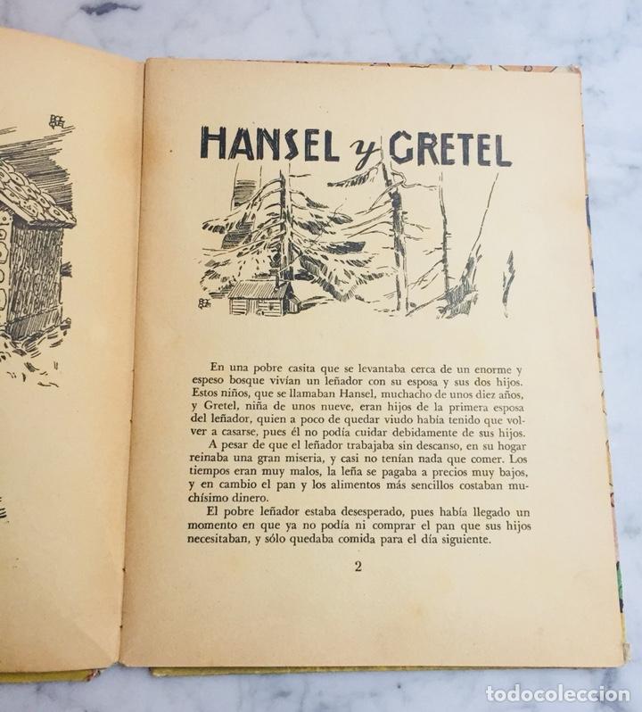 Libros de segunda mano: Libro. Cuento. Hansel y Gretel. Ilustración sorpresa. Pop-up 3D. Ed. Molino. - Foto 2 - 126658051