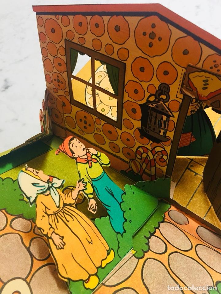 Libros de segunda mano: Libro. Cuento. Hansel y Gretel. Ilustración sorpresa. Pop-up 3D. Ed. Molino. - Foto 3 - 126658051