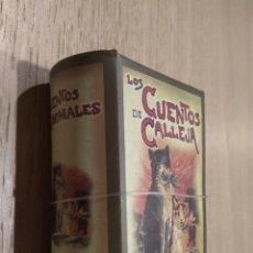 Libros de segunda mano: MINI LIBROS CON ESTUCHE. CUENTOS DE CALLEJA. CUENTOS DE ANIMALES. Lote 126695143