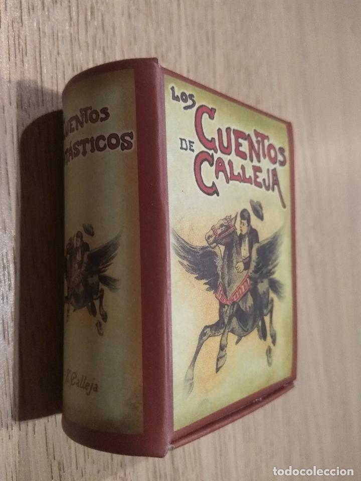 MINI LIBROS CON ESTUCHE. CUENTOS DE CALLEJA. CUENTOS FANTASTICOS (Libros de Segunda Mano - Literatura Infantil y Juvenil - Cuentos)