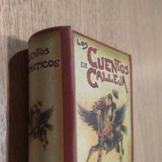 Libros de segunda mano: MINI LIBROS CON ESTUCHE. CUENTOS DE CALLEJA. CUENTOS FANTASTICOS. Lote 156202657