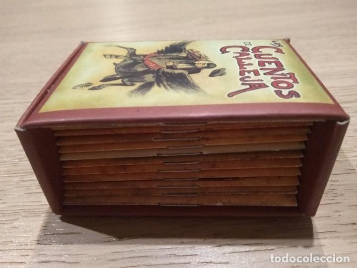 Libros de segunda mano: MINI LIBROS CON ESTUCHE. CUENTOS DE CALLEJA. CUENTOS FANTASTICOS - Foto 2 - 156202657