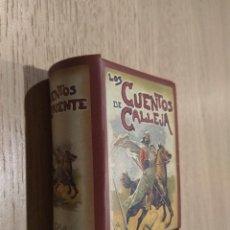 Libros de segunda mano: MINI LIBROS CON ESTUCHE. CUENTOS DE CALLEJA. CUENTOS DE ORIENTE. Lote 126695203