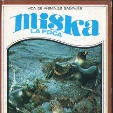Libros de segunda mano: RUTLEY : MISKA LA FOCA (VIDAS DE ANIMALES SALVAJES MOLINO, 1967). Lote 126731483