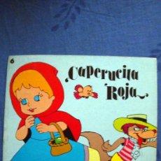 Libros de segunda mano: 6 APRENDIZ BRUJO-GATO CON BOTAS-FLAUTISTA-PULGARCITO-BLANCA-CAPERUCITA-EDIPRINT-1983 TEO PUEBLA. Lote 126814219