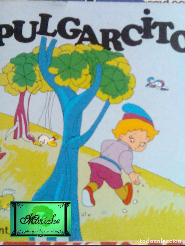 Libros de segunda mano: 5 Aprendiz brujo-gato con botas-Flautista-Pulgarcito-Caperucita-ediprint-1983 Teo Puebla - Foto 5 - 126814219