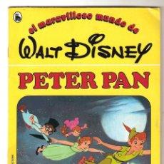 Libros de segunda mano: CUENTO PETER PAN Nº4 COLECCIÓN EL MARAVILLOSO MUNDO DE WALT DISNEY BRUGUERA 1986. Lote 126873867