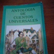 Libros de segunda mano: ANTOLOGIA DE CUENTOS UNIVERSALES. A. L. MATEOS. EST23B4. Lote 126921667
