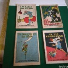 Libros de segunda mano: LOTE 4 CUENTOS DE CALLEJA. Lote 126974975