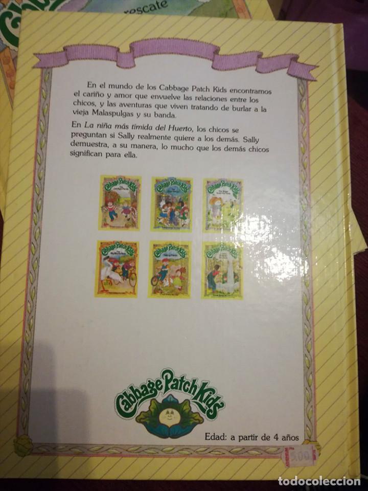 Libros de segunda mano: libro Cabbage Patch Kids muñeca repollo Parker LA GRAN CARRERA CICLISTA 1984 nuevo - Foto 2 - 185884971