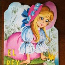 Libros de segunda mano: 3 CUENTOS EL REY RANA-ALADINO-FLAUTISTA Nº 9-10-15 TROQUELADO SERIE CLASICA GRAFICAS COBAS 1980. Lote 127474759