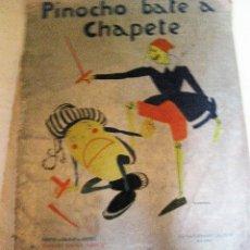 Libros de segunda mano: ANTIGUO CUENTO PINOCHO BATE A CHAPETE , CUENTOS CALLEJA EN COLORES 1930 . DIB BARTOLOZZI. Lote 127490931