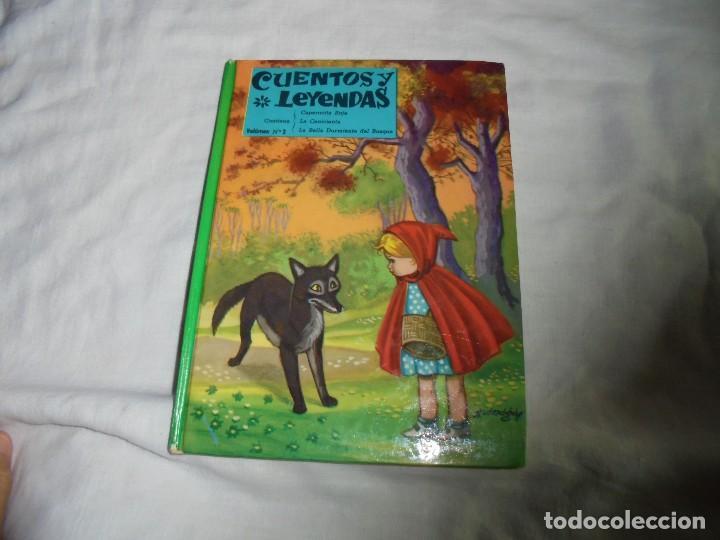 CUENTOS Y LEYENDAS VOL.2.EDITORIAL VASCO AMERICANA BILBAO 1962 (Libros de Segunda Mano - Literatura Infantil y Juvenil - Cuentos)