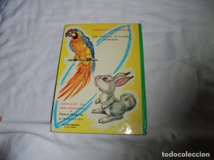 Libros de segunda mano: CUENTOS Y LEYENDAS VOL.2.EDITORIAL VASCO AMERICANA BILBAO 1962 - Foto 6 - 127502019