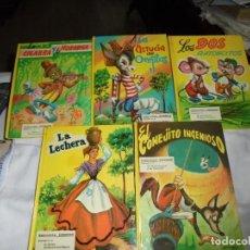 Libros de segunda mano: COLECCION CANDOR COMPLETA LOS CINCO VOLUMENES 1974. Lote 127503395